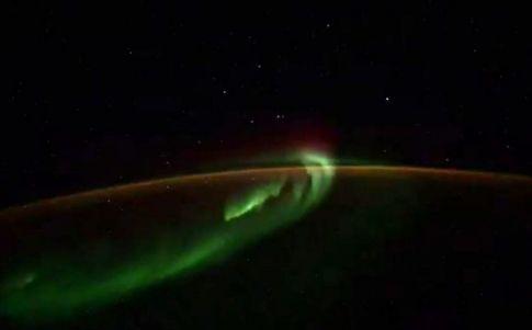 Imagen captada por el cosmonauta ruso
