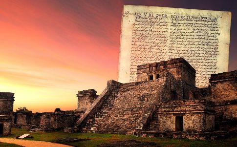 La Biblia secreta de los maya