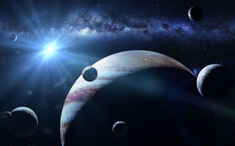 Planetas sin estrella se desplazan por la Vía Láctea
