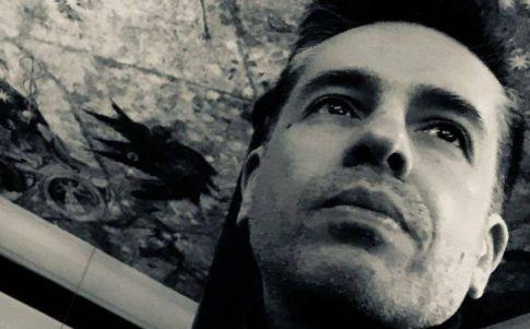 Entrevista a Aldo Linares (Fotografía: Olga López)