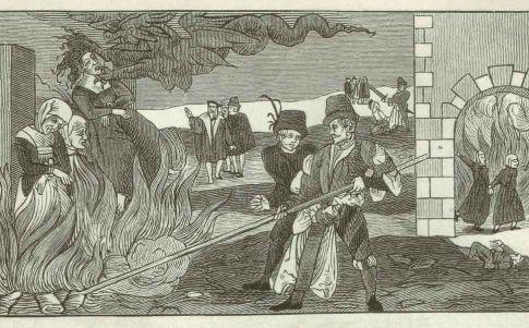 Hallan el cuerpo de dos brujas condenadas por infanticidio