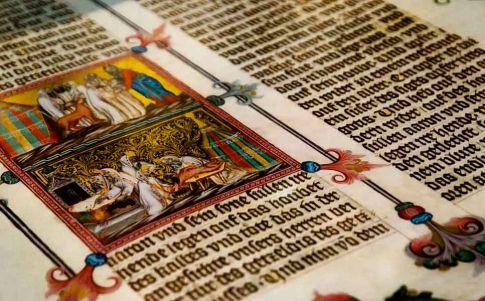 Un manuscrito mágico para evitar la muerte durante el parto en la Edad Media