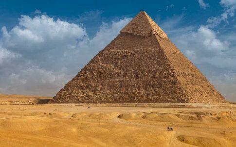 Keops pudo haber reutilizado la Gran Pirámide