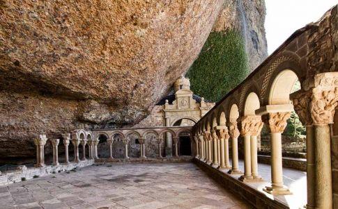San Juan de la Peña: la tentación del diablo (Fuente: Wikimedia Commons)