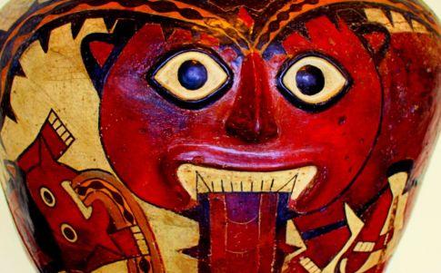 Dios Kon al que estarían dedicadas las líneas de Nazca (Foto: A. L. Moyano)