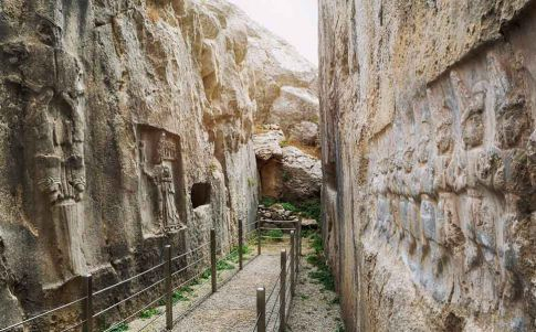 Las representaciones ocultas del templo hitita de Yazilikaya