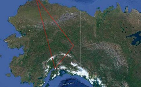 En el triángulo de Alaska han desaparecido 16.000 personas