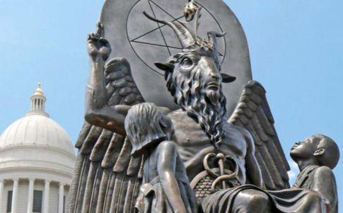 Satanistas contra la ley del aborto de Texas