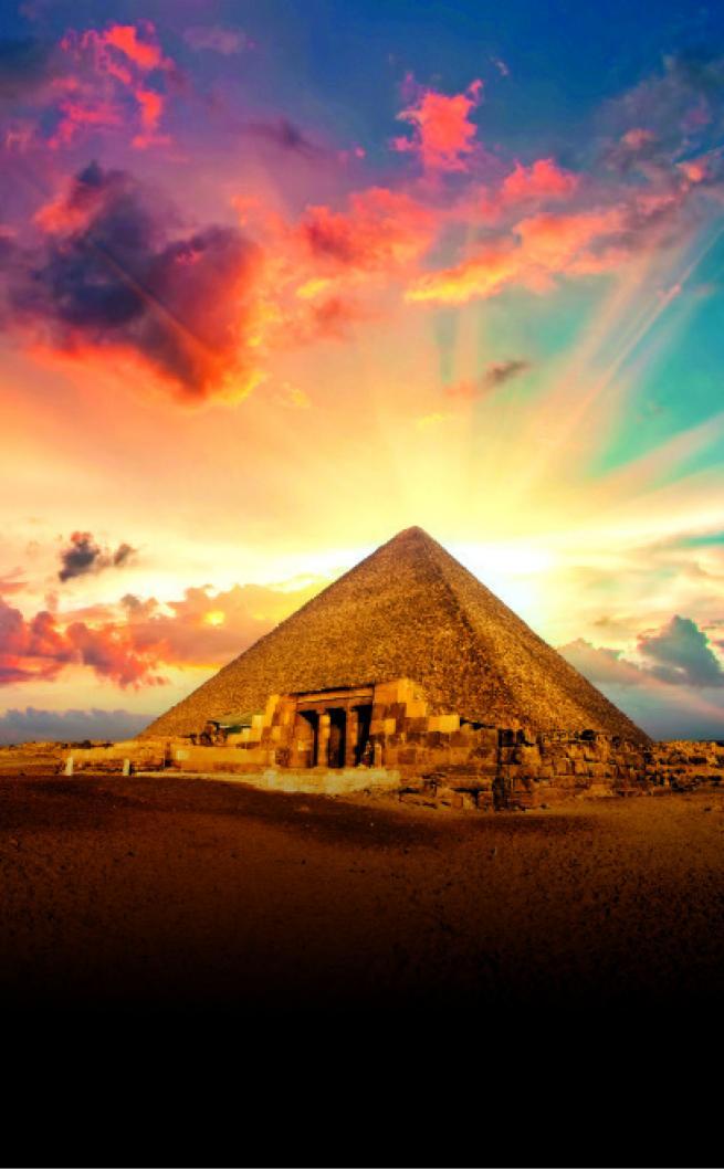 pirámides giza egipto más allá