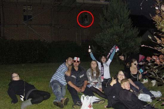 Natasha Oilver obtuvo esta imagen fantasmal en Inglaterra