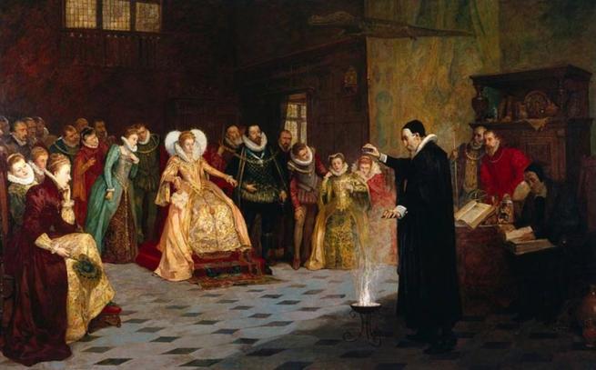 Los rayos X revelan detalles ocultos en una pintura en la que aparece el enigmático John Dee