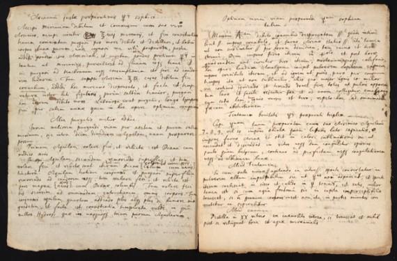 Newton era también alquimista