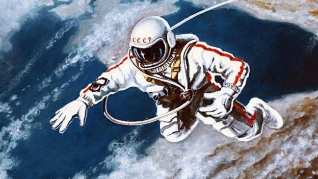 Los rusos estuvieron a la cabeza durante la carrera espacial