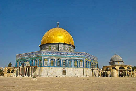 La cúpula de la Roca tercer lugar sagrado del islam