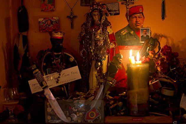 En Venezuela proliferaron los rituales santeros