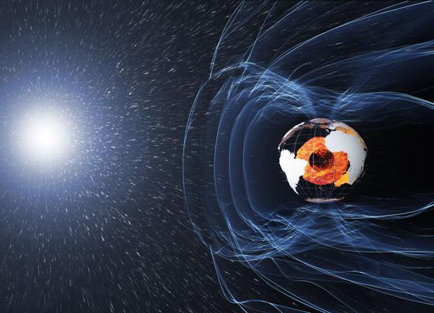 Los polos magnéticos de la Tierra están cambiando su polaridad