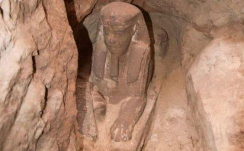 ¡Descubren una segunda Esfinge en Egipto!