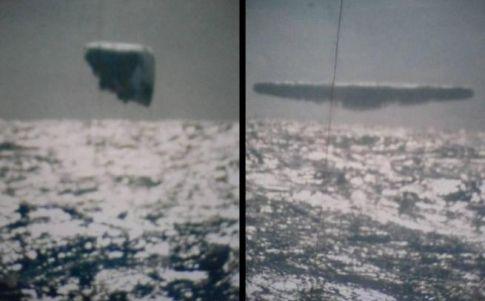 Imágenes de ovnis en el Ártico