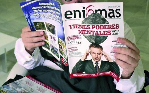 """""""Decidí meter ENIGMAS porque es una revista legendaria"""""""