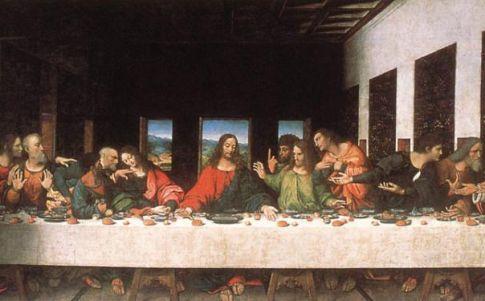 Descubren otro mensaje oculto en 'La última cena' de Leonardo
