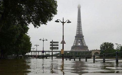 Un fuerte diluvio podría arrasar a más de mil millones de personas