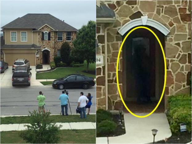 La casa del Rey del Rodeo muestra una sombra que podría ser su fantasma