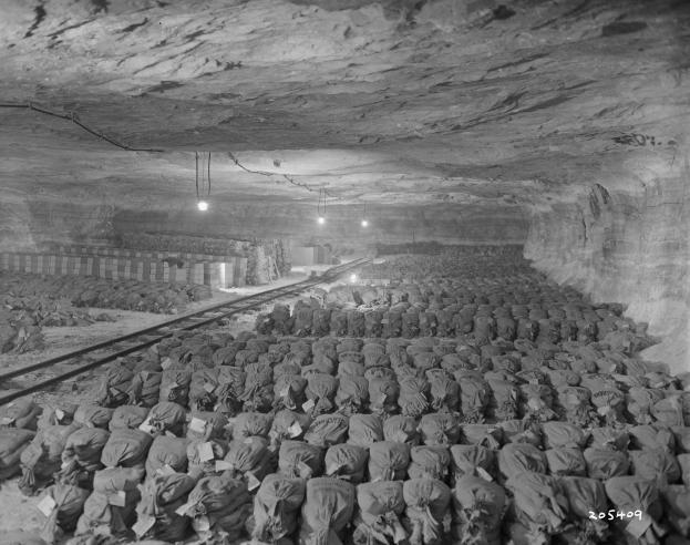 Parte del tesoro de los nazis