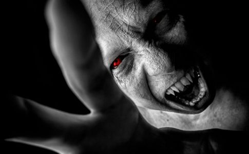 Desentierran un niño vampiro