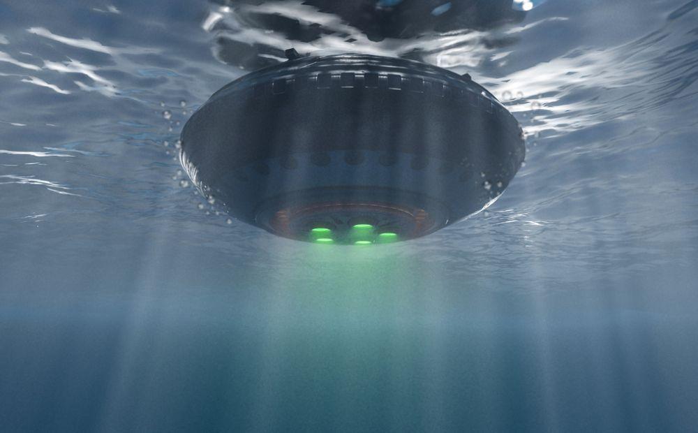 Irlanda poderia conter uma base submarina de OVNIs