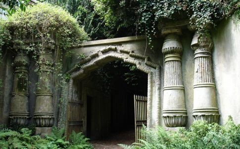 El vampiro del cementerio de Highgate