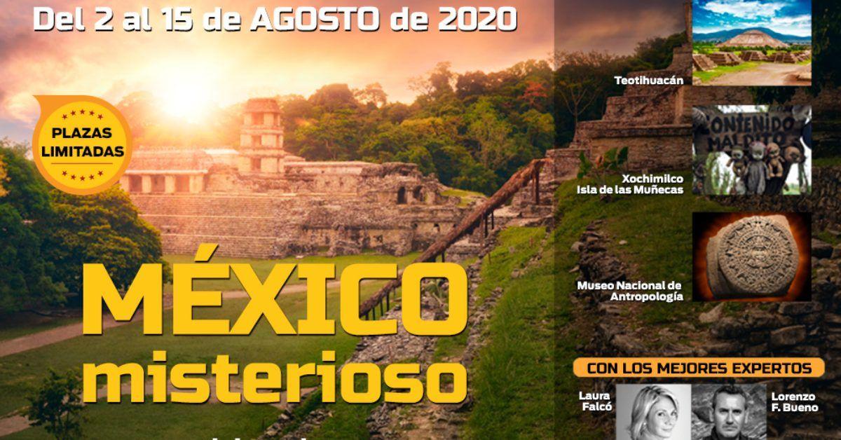 Únete a un viaje único para descubrir México misterioso