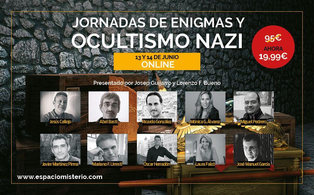Jornadas «Enigmas Nazis: misterio, esoterismo y objetos de poder»