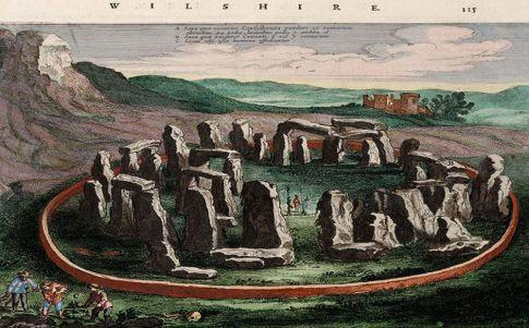 Los monumentos megalíticos de la Luna